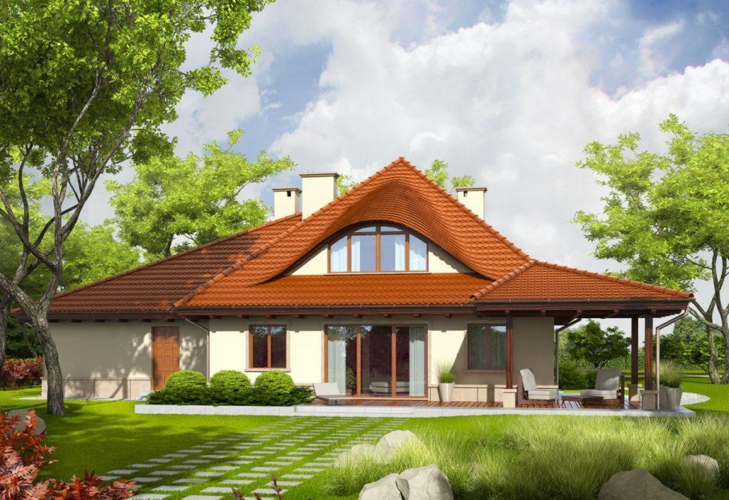 каркасный дом к-8