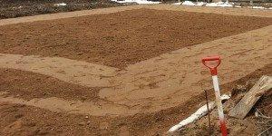 Засыпка песчаной подушки