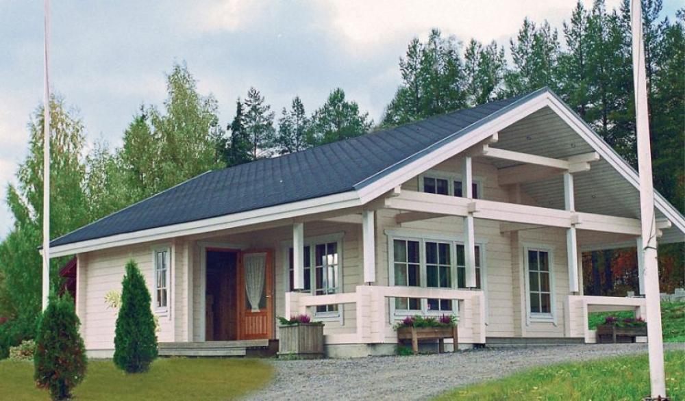 каркасные дома б-8