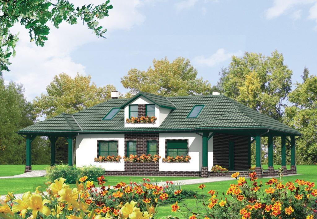каркасный дом к-13